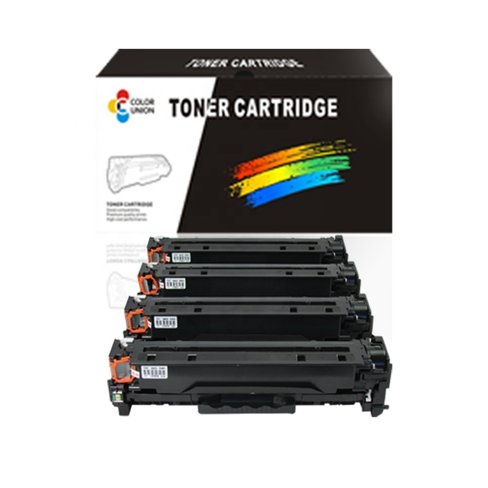 High quality toner cartridges compatible cc531a cc532a cc33a cc530afor color toner printer