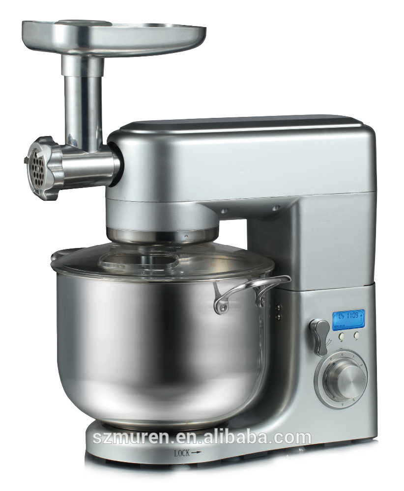 Murenking Professional kitchen appliances heavy duty stand mixer with meat grinder
