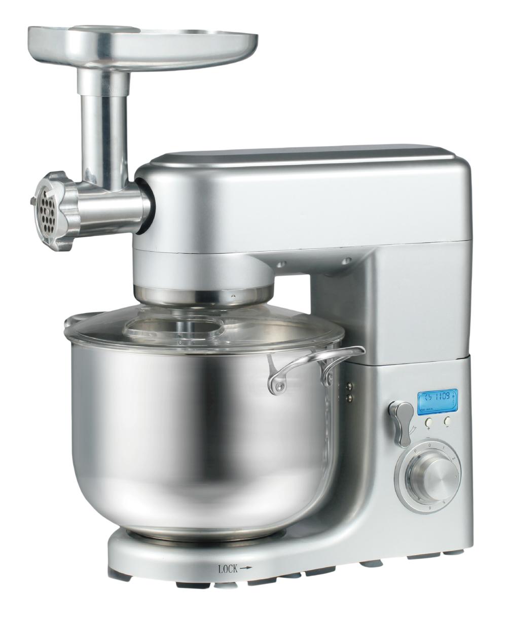 10L 1500W home kitchen appliancestand mixer with meat grinder