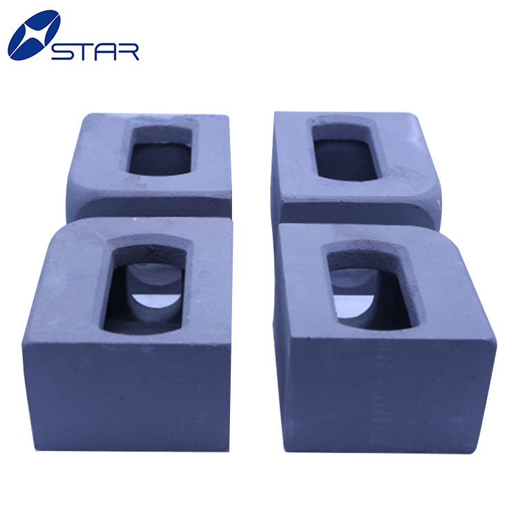 Mild steel container parts corner casting for trailer and container