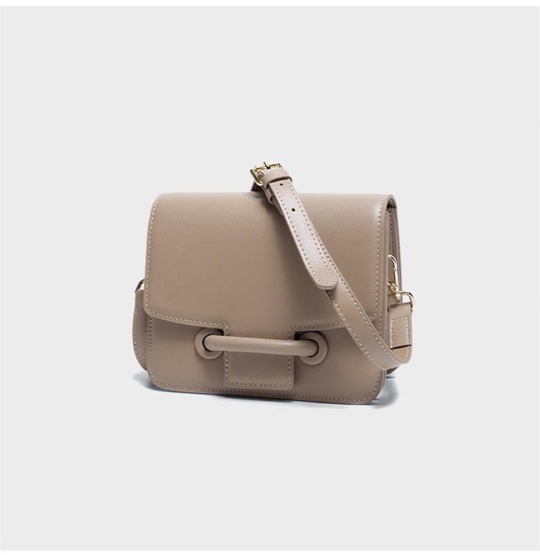 2020 New Women Genuine LeatherFlap Shoulder bag Female Fashion Small Box Bag Elegant Cross body Messenger Bag Teens Purse