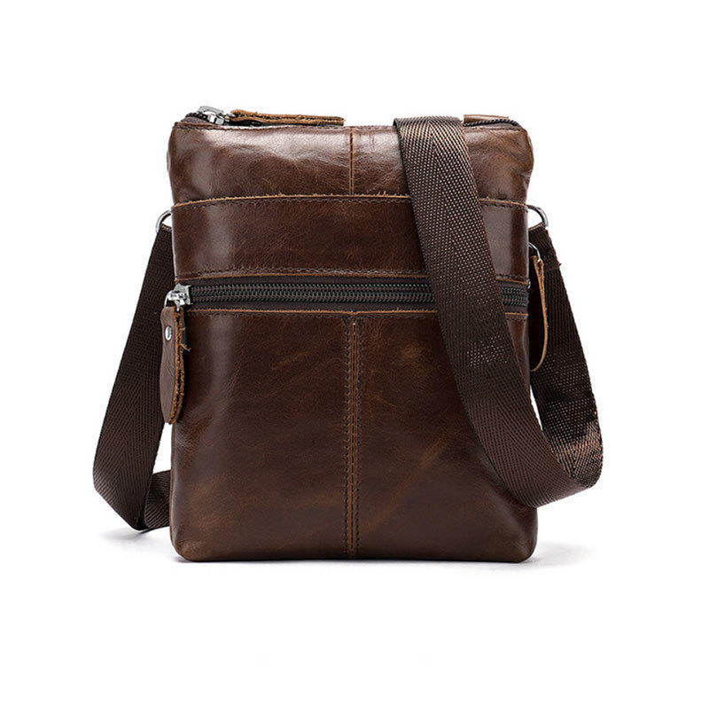 Wholesale New Design Men Leather Small Luxury Crossbody Bag for Man Schoolboy Online