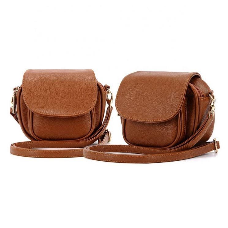 Latest fashion ladies cross body bags genuine mini vintage genuine leather shoulder bags for women small purses messenger bag