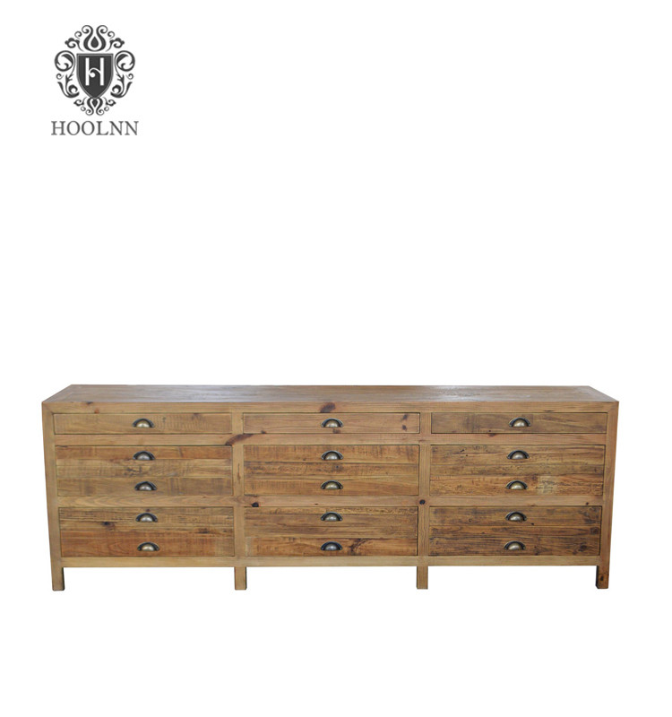 French Vintage Style Wooden TV Stand HL369