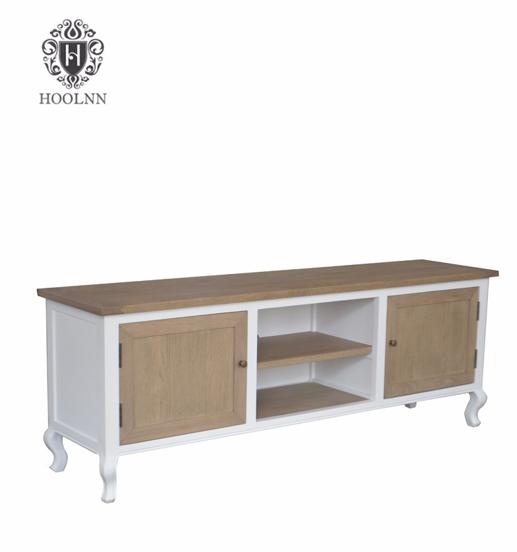 Masion French Style Oak Wood TV Stand HL892