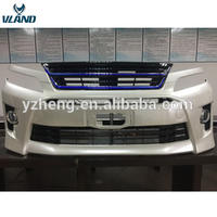 VLAND Factory wholesale price front bumper for ALPHARD VELLFIRE 2007 2009 2011 2014 from bumper plus grille