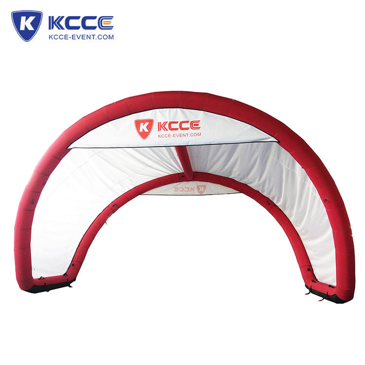 Outdoor inflatable 10 person tent, air tight party tent