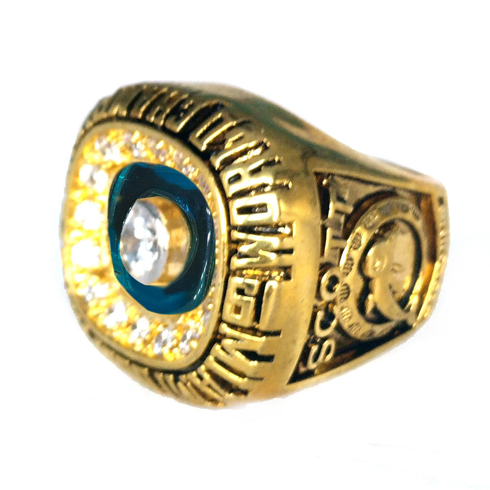1972 Miami Dolphins Cubic Zircon Championship Ring