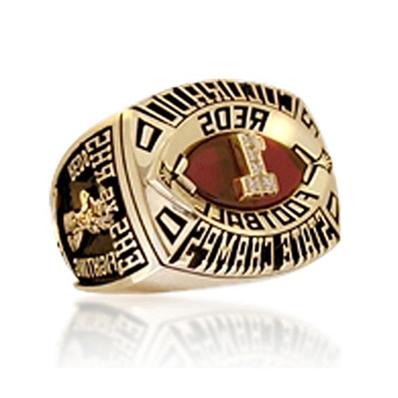 2000 Colorado Reds Custom Football Championship Rings