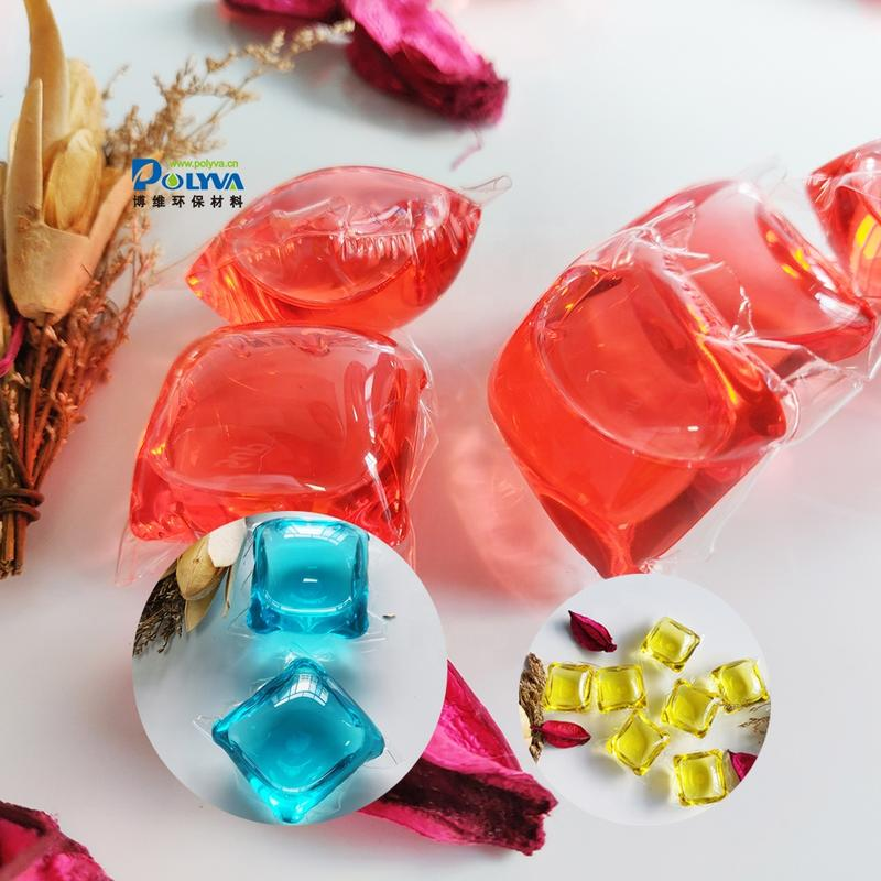 8g-20g OEM and ODM natural formula and lasting fragrance water soluble laundry pods for washing clothes