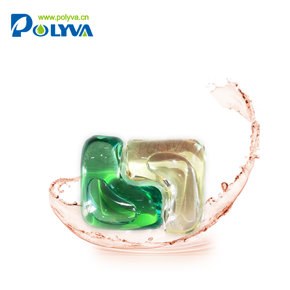 Polyva 2019new hand carved soap flowers high density liquid laundry detergent powder capsule