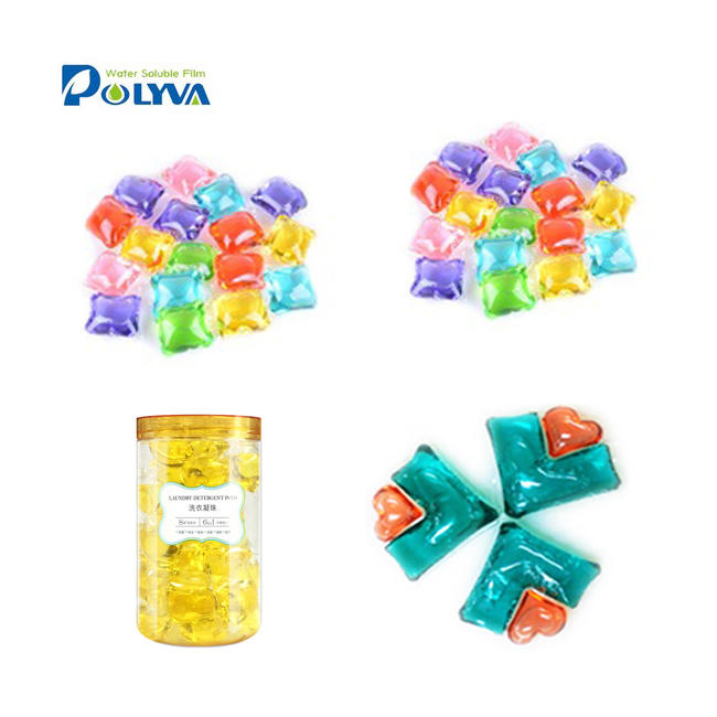 Super concentrated capsule laundry pod detergent capsules with water soluble film