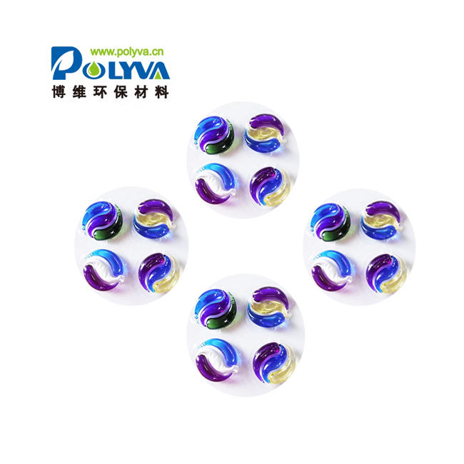Factory SupplyDifferent Colors Water Soluble Fragrance Detergent Liquid Laundry Pods