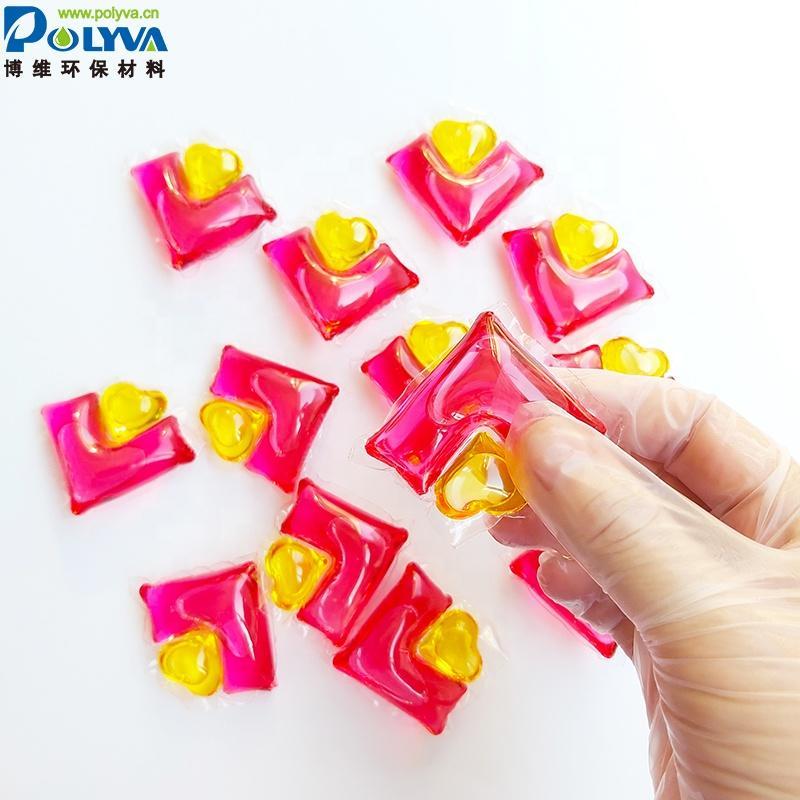 Polyva 2in1Apparel Detergent Capsules detergent capsules laundry detergent pods