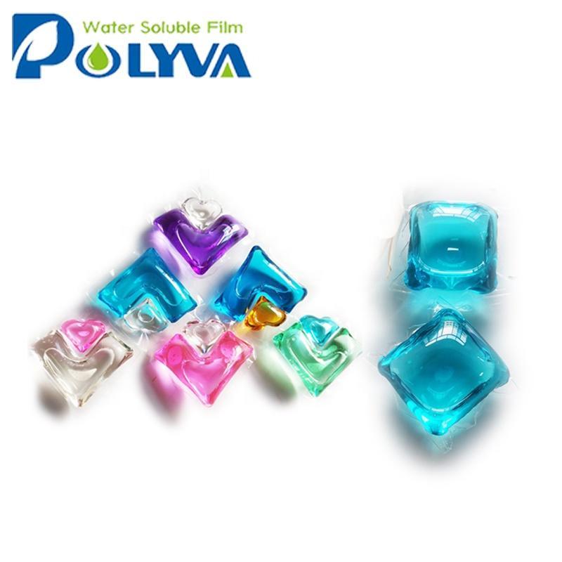 Polyva laundry gel capsules beads