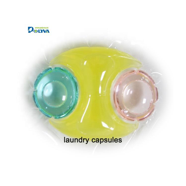 Polyva easy-use, eco-friendly detergent liquid laundry pods laundry liquid capsule