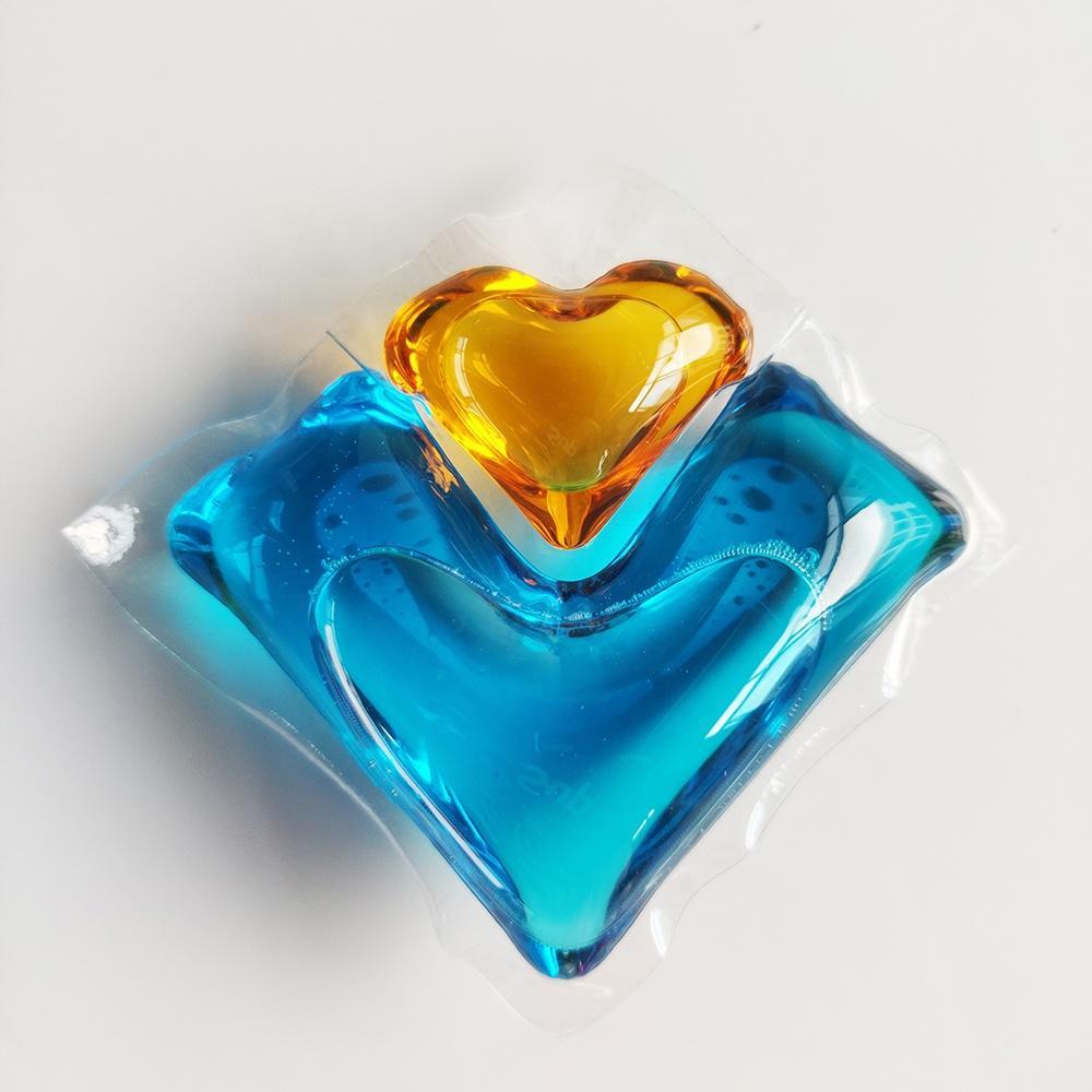Hand/Machine washing concentrated liquid detergent pods
