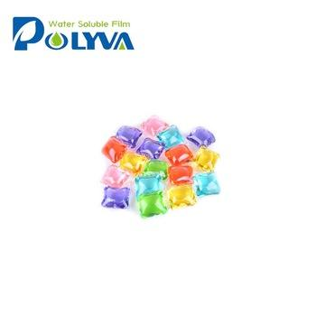 Commercial LiquidDetergent Laundry Detergent Pods with Blue Green Pink Purple White
