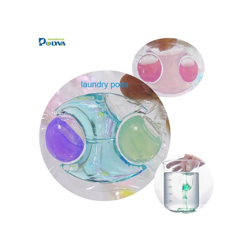 washing machine low foam laundry detergent capsules/detergent liquid pods 20g