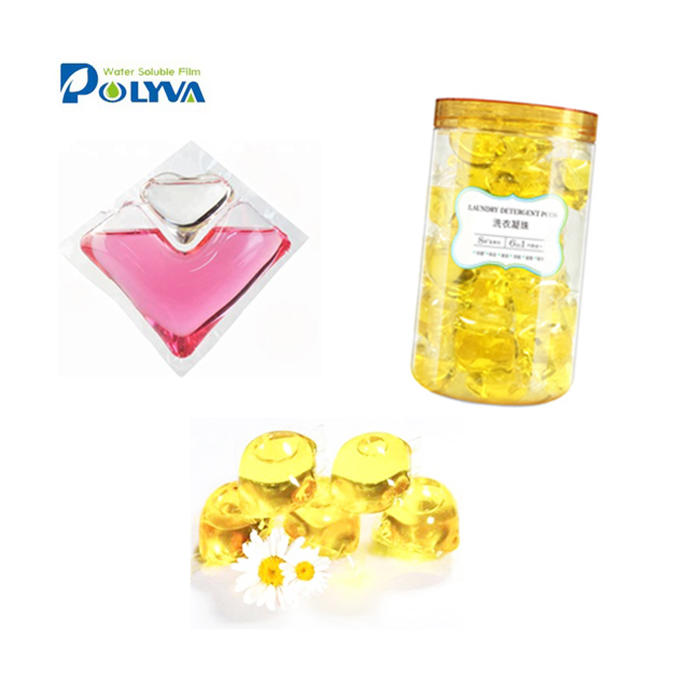 hotel washing soap laundry detergent capsules water soluble film