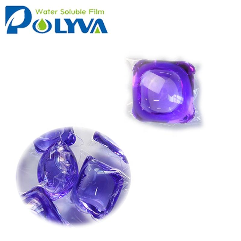 concentrated laundry detergent liquid pods