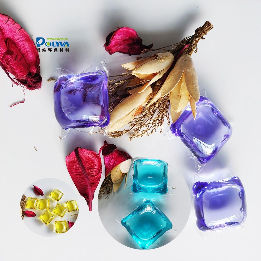 8g OEM and ODM comfort liquid and eco-friendly water soluble laundry pods for washing clothes