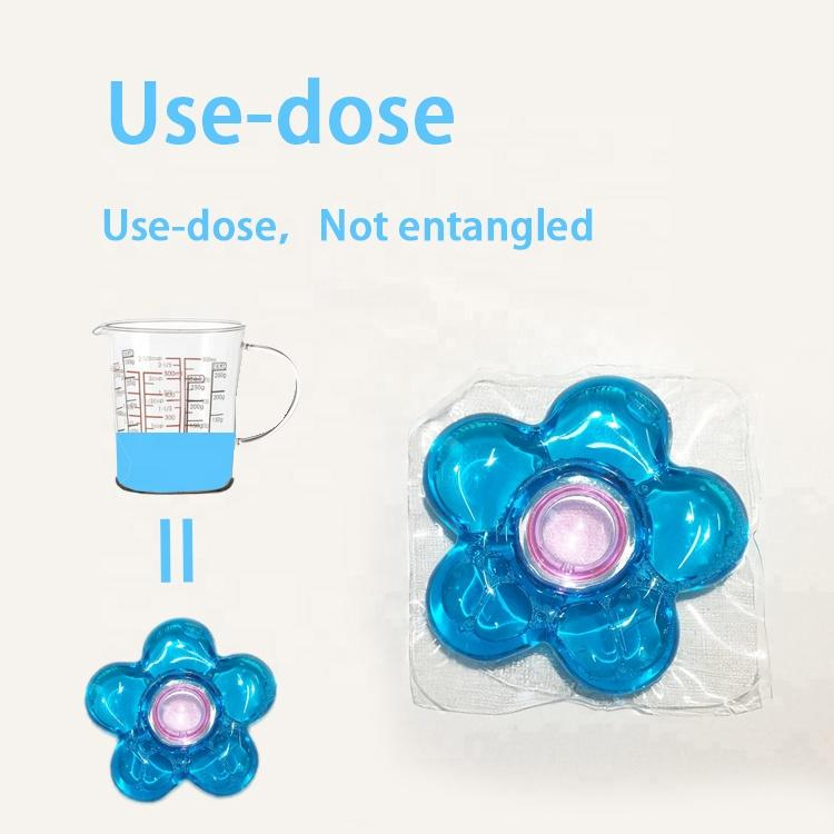 OEM and ODM soft liquid and fragrance liquid laundry detergent pods