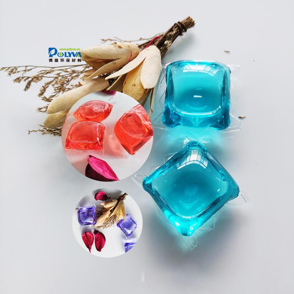 8g-20g OEM natural formula and antifungal water soluble laundry pods for washing clothes