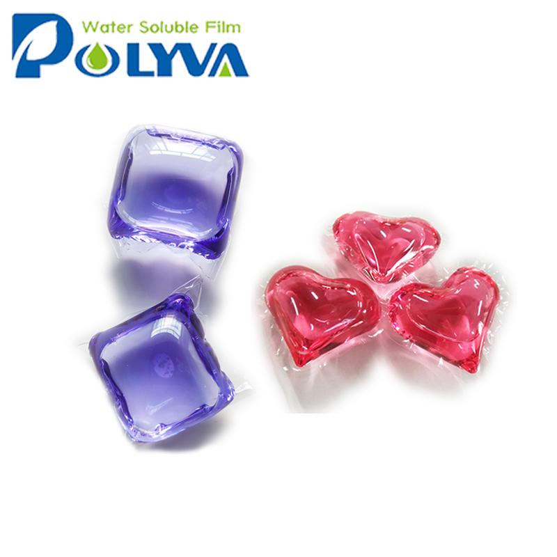Polyva liquid detergent washingbeads