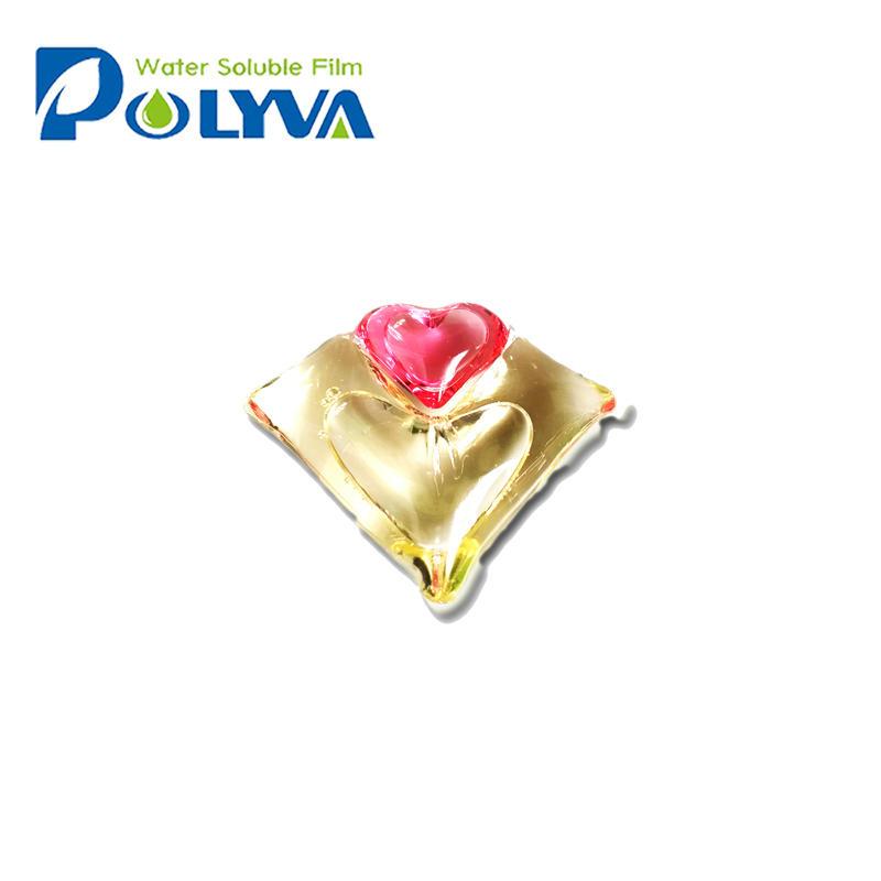 Polyva 2 in 1 washing detergent liquid pods