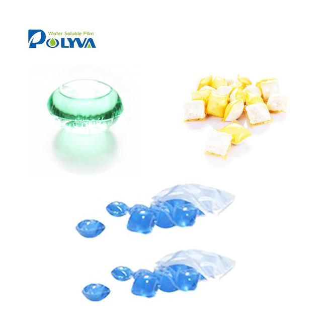 Liquid detergent dishwashing pods detergent capsules water soluble pva pod