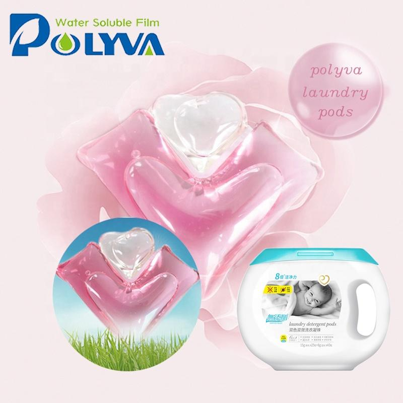 eco-friendly laundry detergent water-soluble film pva