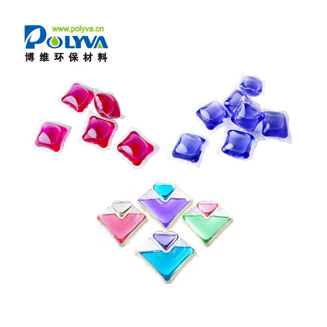 Liquid Stable Color Laundry Detergent Washing Capsules Soft Liquid Water Soluble Laundry Detergentand Film