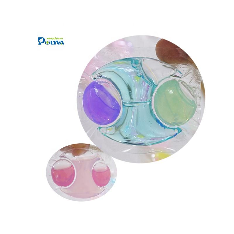 Polyva factory supply special-shaped laundry detergent liquid pods