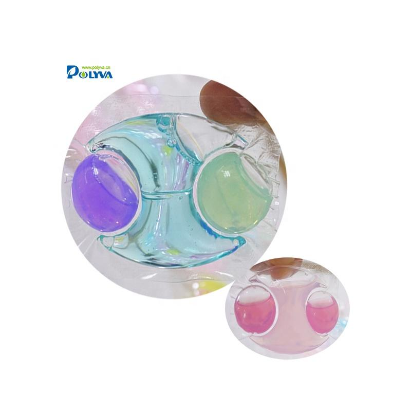 Polyva 15 grams laundry beads laundry gel pods, soap pods for baby clothes and high-end clothes washing