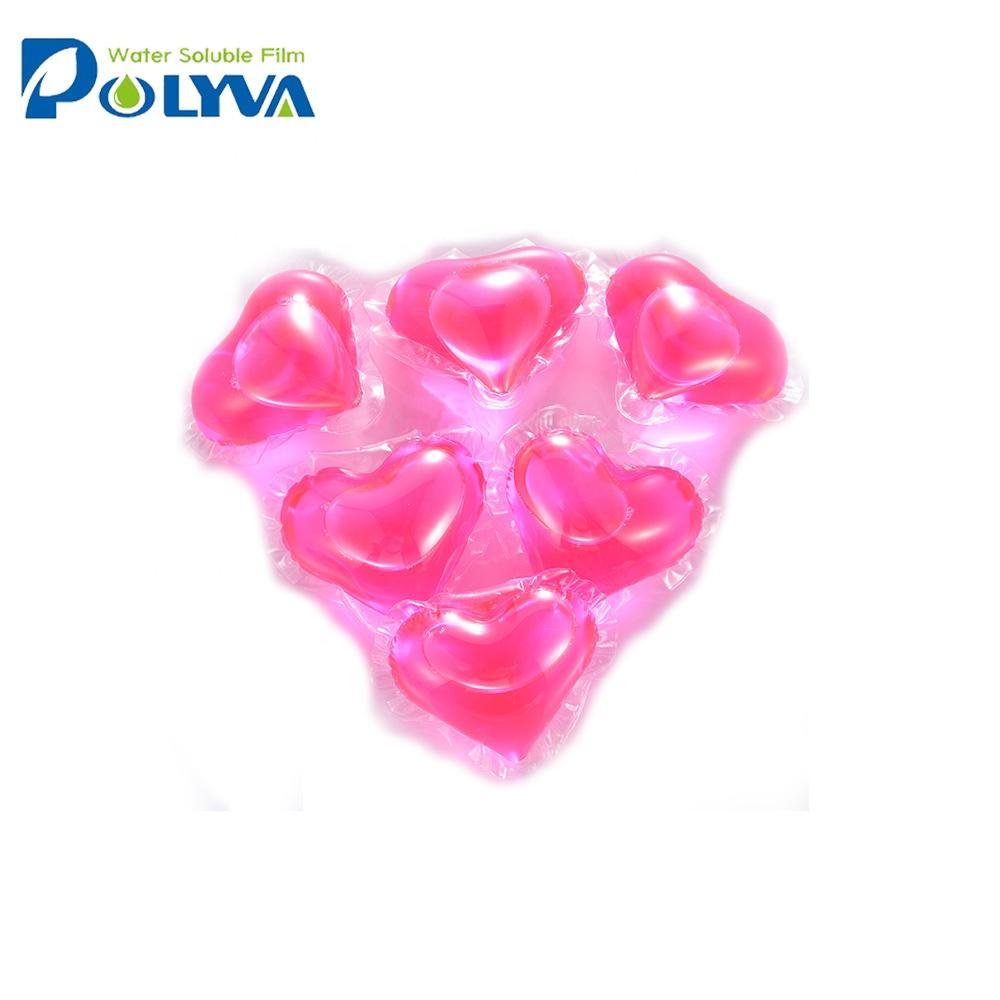 Polyva laundry detergent soap liquidpods beads