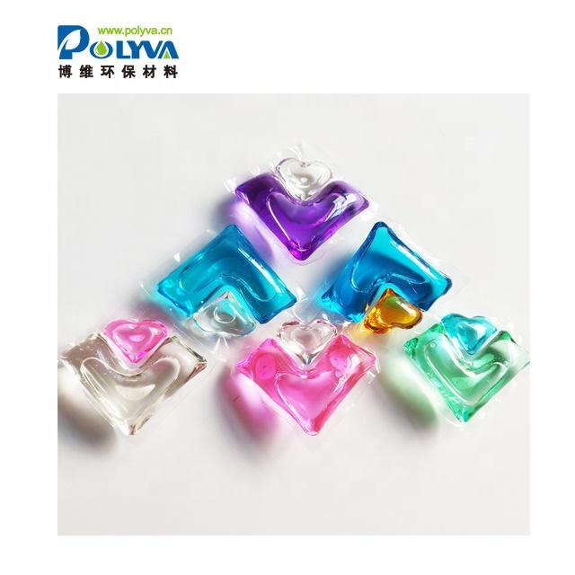Polyva 3 In 1 Apparel Cleaning Laundry Pods ClothesWashing Custom Made Laundry Beads