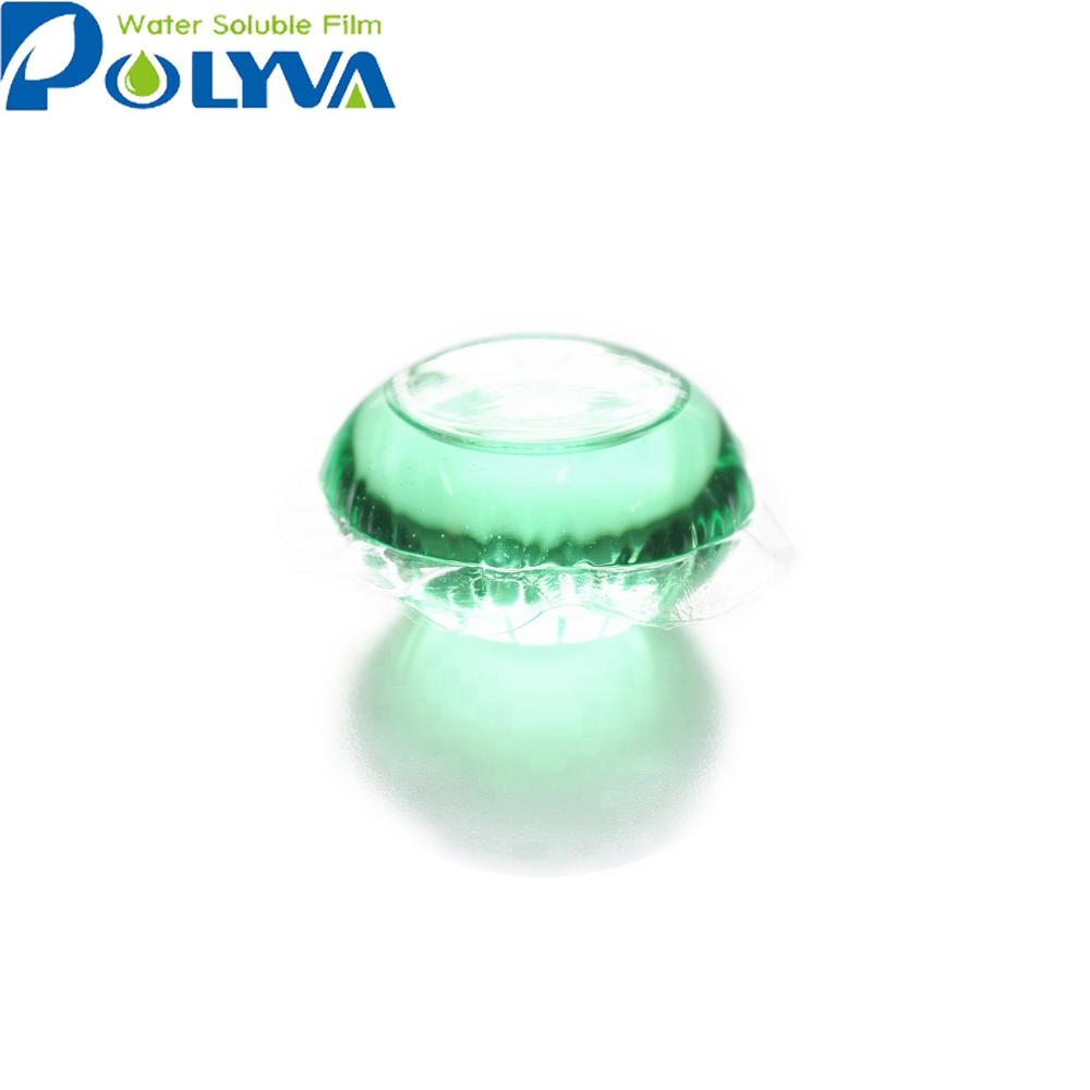 organic eco-friendly laundry liquid pods water-soluble film beads for family laundry