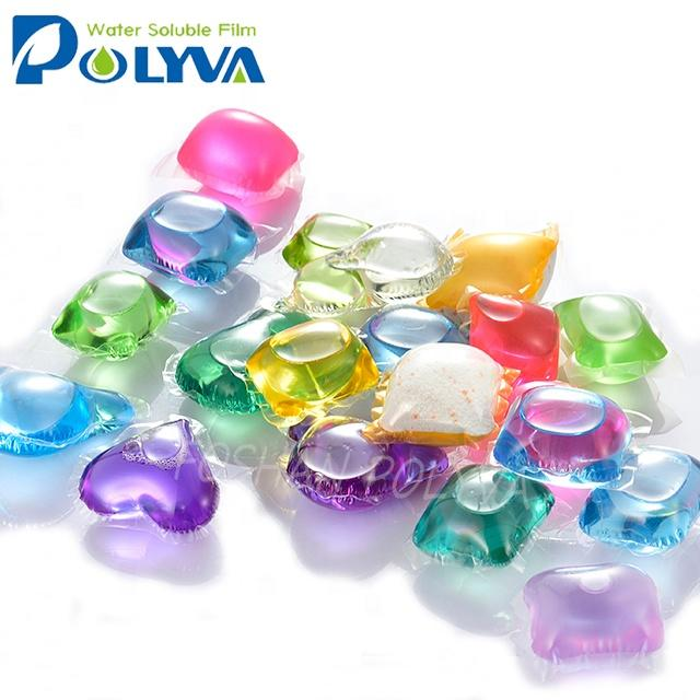 Polyva laundry beads manufacturer apparel cleaning laundrydetergent powder capsule