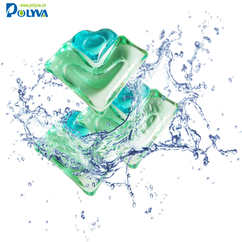 Polyva highly quality detergent pod dish cleaning household cleaning product scented beads washing