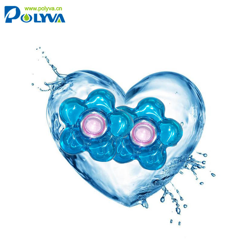 Wholesale polyva Highly concentrate bulk laundry detergent pods washing scented capsules liquid laundry detergents