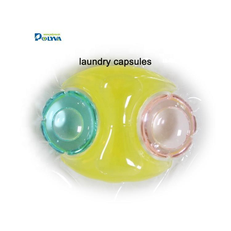 Polyva foam laundry detergent capsules/detergent liquid pods