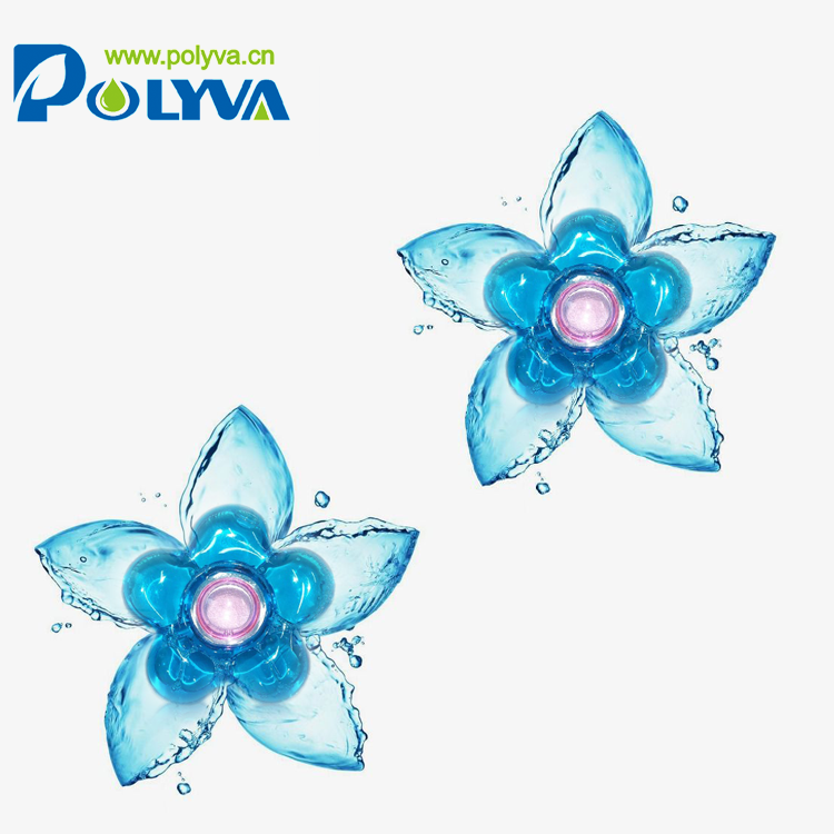 Polyva 2019 long lasting fragrance washing laundry pods incense beads detergent pods bulk wholesale