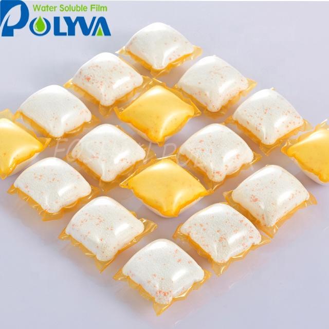 Polyva laundryliquiddetergent beads washing powder pods capsule