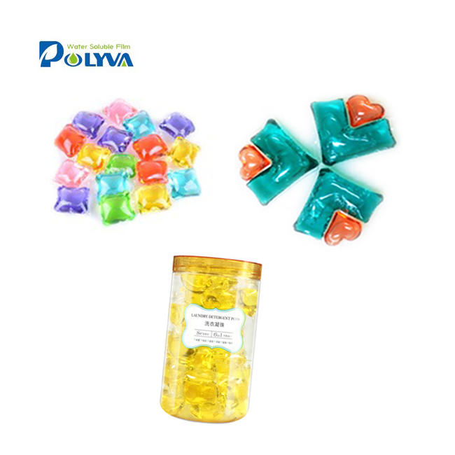 Colorful lasting fragrance baby bulk liquid laundry detergent capsules perfume pods for washing clothes