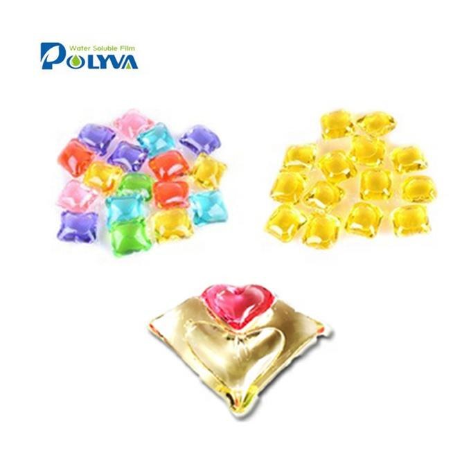 Polyvaconcentrated multi purpose laundry pods for cleaning cloths