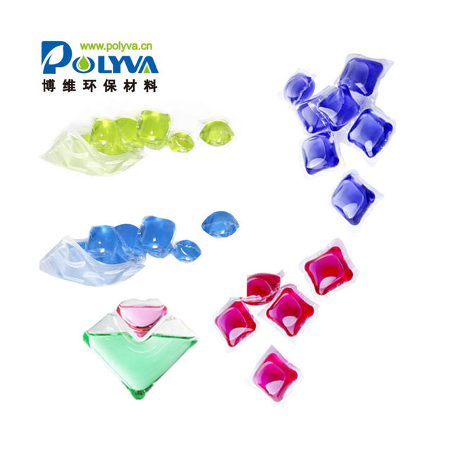 OEM New Innovation Products Household Portable Clothes Washing Liquid Shape Detergent Fragrance Water Soluble