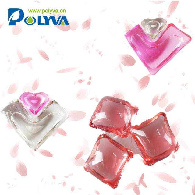 laundry fragrance booster scented beads washing water soluble laundry detergent pod