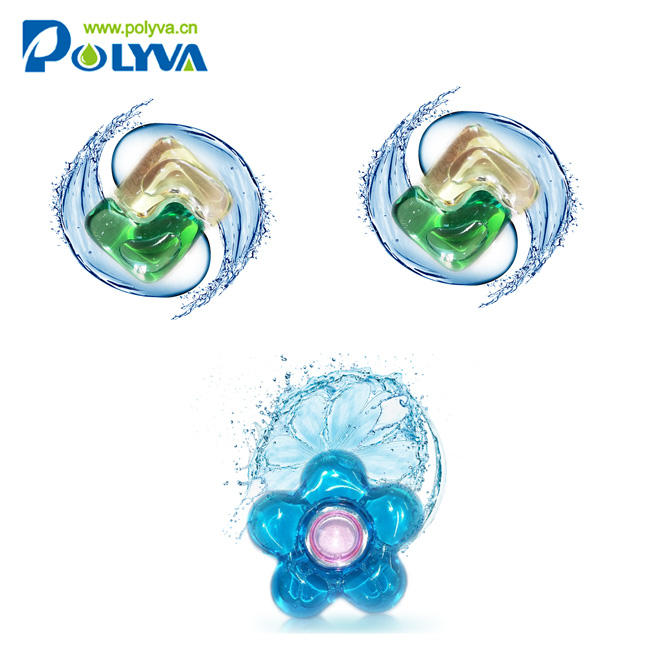 New OEM design water soluble laundry detergent pod scented beads washing Comfort liquid laundry pods