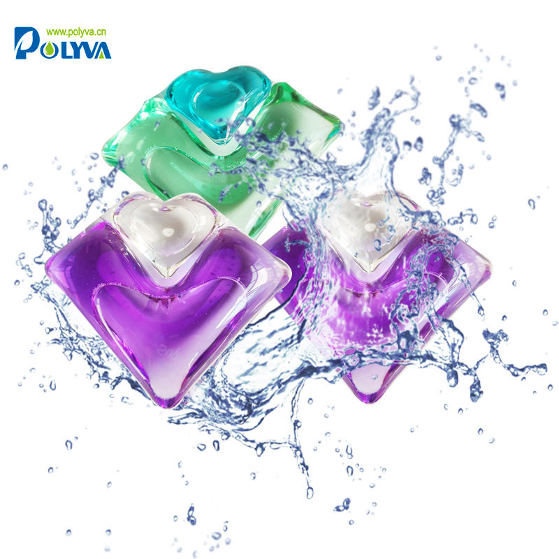 Polyva Natural ingredients harmless baby & adult laundryliquid detergent pods capsules detergent laundry